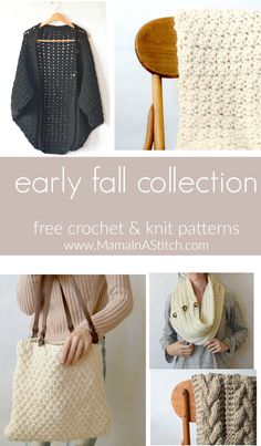 Fall Collection via @MamaInAStitch