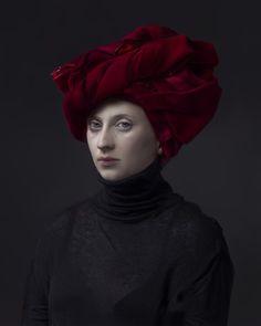 Red Turban by Hendrik Kerstens