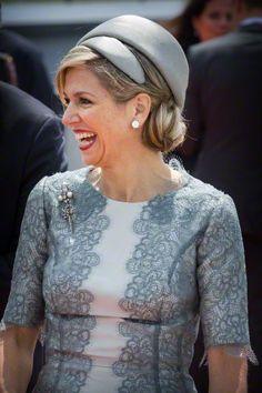 Queen Máxima, June 18, 2015 in Fabienne Delvigne | Royal Hats