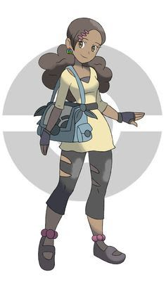 Image result for pokemon xy trainer art
