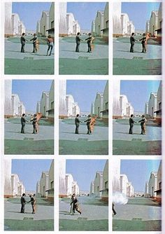 """Pink Floyd - """"Wish You Were Here"""" (1975). By Hipgnosis."""
