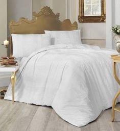 Lovely Home Bedroom – imagineshops Comforter Cover, Duvet Cover Sets, Nobby, Flat Bed, White Patterns, Home Bedroom, Bed Sheets, Comforters, Pillow Cases