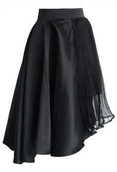 Eternal Flame Asymmetric Skirt