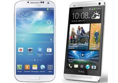Samsung Galaxy S4 vs HTC One business user choice