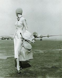 Chic Travel. Everyone used to get dressed up to fly.