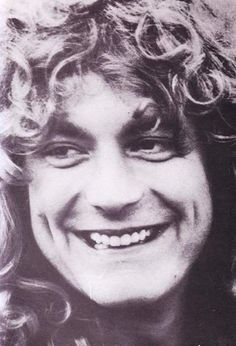 Robert Plant of Led Zeppelin...whatever his faults may have been, he was glorious