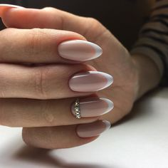 Nov 2019 - Here is your almond nails guide including; personality and characteristics, types of almond nail shape and celebrities with almond nails. Almond Nails French, Almond Shape Nails, French Tip Nails, French Manicures, Nails Shape, White Almond Nails, White French Nails, French Polish, French Art
