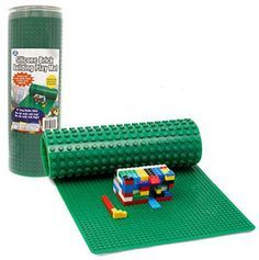 great gift idea! Brick Building Play Mat - Rollable, Two Sided Silicone Mat - Works with LEGO and Duplo - A Thrifty Mom