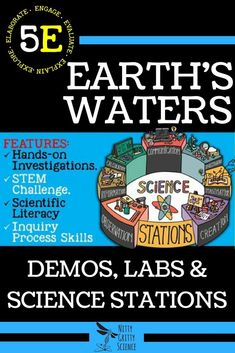 Topics Included for Astronomy and Space Science: Earths Motion The Moon Earths Satellite Solar System The Planets Stars and Galaxies Space Exploration Science Topics, Science Curriculum, Science Classroom, Science Lessons, Science Education, Science Experiments, Science Ideas, Science Fun, Teaching Science
