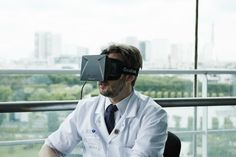 3b. Oculus rift will affect the medical industry because now there will be no more training videos, everything will be interactive #oculusrift