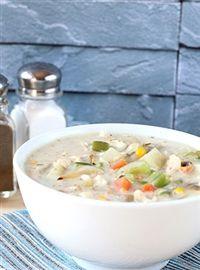 Weigh-Less Online - Chicken Pot Pie Soup Pot Pie, Cheeseburger Chowder, Soup, Chicken, Healthy, Recipes, Recipies, Pot Pies, Soups