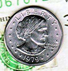 Bu Gem 1979 P Susan B Anthony Dollar