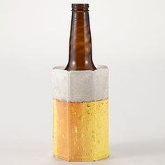 Love the practicality of this, and the fun design! Vacu Vin Rapid Beer Chiller.