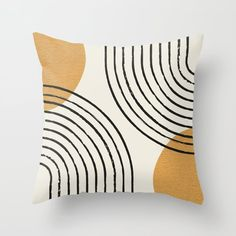Buy Sun Arch Double - Gold Throw Pillow by moonlightprint. Worldwide shipping available at Society6.com. Just one of millions of high quality products available. Yellow Throw Pillows, Gold Pillows, Accent Pillows, Patio Pillows, Couch Pillows, Gold Couch, Textiles, Weaving Techniques, Clothes Crafts