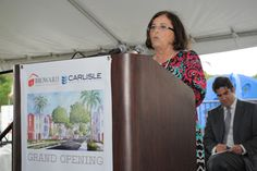 East Village Ribbon Cutting Event