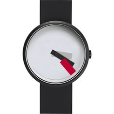 Projects Watches Suprematism Watch | Red/Black Silicone