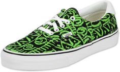 Vans Era 59 Schuhe grün schwarz