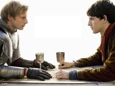 Merlin: Merlin & Arthur.  I love their friendship and brotherhood! The chemistry between them is what made the whole show.