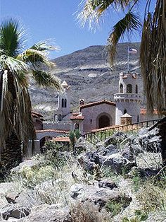 Scotty's Castle is a two-story Mission Revival and Spanish Colonial Revival style villa located in the Grapevine Mountains of northern Death Valley in Death Valley National Park, California, U.S..