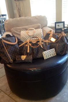 My Louis Vuitton collection! <3 <3 <3