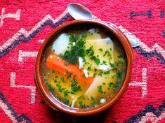 Cazuela de Pantrucas (Suculenta sopa chilena) / Succulente Soupe Chilienne / Chilean Soup