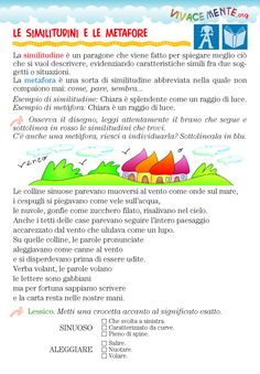 VIVACEMENTE con il cuore e con la mente: marzo 2015 Italian Grammar, Italian Language, Learn To Speak Italian, Education Information, Learning Italian, Writing Workshop, Mini Books, Primary School, Problem Solving
