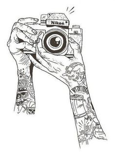 Camera Illustration | Nikon | Tattoos | Sleeve 8531 Santa Monica Blvd West Hollywood, CA 90069 - Call or stop by anytime. UPDATE: Now ANYONE can call our Drug and Drama Helpline Free at 310-855-9168.