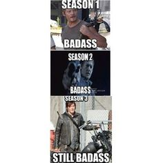 The walking dead Daryl Dixon Walking Dead, Walking Dead Funny, The Walking Dead, Movies Showing, Movies And Tv Shows, Daryl And Rick, Badass, Movie Tv, Nerdy