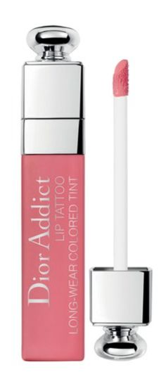 """Dior Addict Lip Tattoo, the first long wear lip tint by Dior, is about to shake up your makeup routine. With its hold,* comfortable formula and weightless """"""""no transfer"""""""" finish, the colour fuses to the lips like a tattoo just seconds after application."""