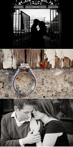 pretty engagment photos