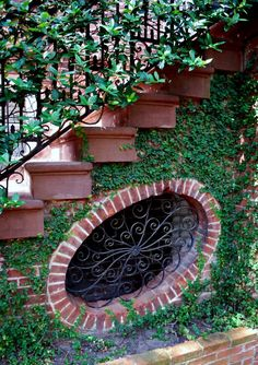 More wrought iron in Savannah