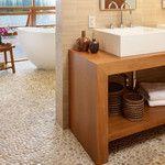 21 Best Creative Bathroom Sink Design Ideas with Pictures Bathroom Sink Design, Stone Bathroom, Bathroom Sink Faucets, Bathroom Colors, Bathroom Interior Design, Kitchen Design, Hall Bathroom, Bathroom Ideas, Modern Sink