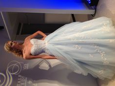 Something blue Alfred Angelo Disney princess