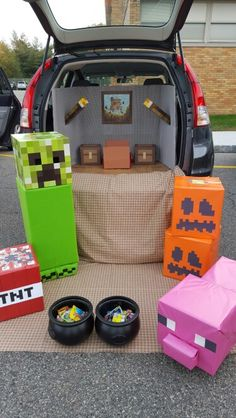 Minecraft trunk or treat.