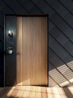 Room Door Design, Wooden Door Design, Door Design Interior, Main Door Design, Entrance Design, Wooden Doors, Custom Interior Doors, Exterior Design, Porte Design
