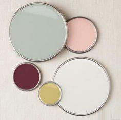Master Bedroom Color Scheme | Rose, Blush, Sage, Gold, White, Off-White, Burgundy                                                                                                                                                                                 More