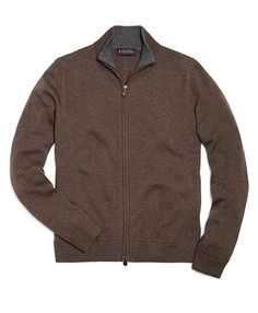 Similar to this:  Full-Zip Merino Cardigan Brown Heather