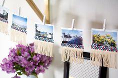 Personalized photo garland!
