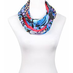 Gaudi Scarf Purple Blue Pink, 69€,  by SAAKO !!