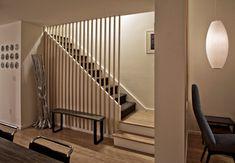 Townhouse Renovation in San Diego - farmhouse - staircase - san diego - Jon+Aud Design