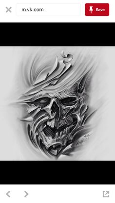 A skull in cloth almost M Tattoos, Cover Up Tattoos, Skull Tattoos, Rose Tattoos, Body Art Tattoos, Sleeve Tattoos, Biomech Tattoo, Biomechanical Tattoo, Skull Tattoo Design