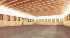 Project: Turnhalle, Landquart, 2.Preis - RUPRECHT ARCHITEKTEN