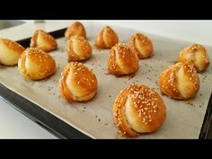 1 bardak YOĞURT ve 10 DAKİKADA fırında,inanılmaz derecede KOLAY ve LEZZETLİ❗Herkes HAYRAN KALACAK👌 - YouTube Brunch Recipes, Appetizer Recipes, Snack Recipes, Snacks, Pogaca Recipe, Baking Recipes, Cookie Recipes, Bread Bun, Finger Food Appetizers