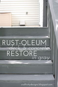 Rustoleum Deck ReStore Review & Reveal – Craftivity Designs