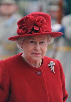 Queen Elizabeth, 2008 in Rachel Trevor Morgan