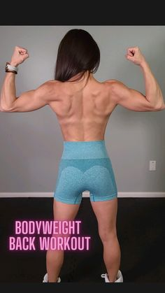 Fitness Workouts, Gym Workout Tips, Workout Challenge, Fitness Goals, Workout Videos, Fitness Tips, Shoulder Workout At Home, Back Workout Women, Back Fat Workout