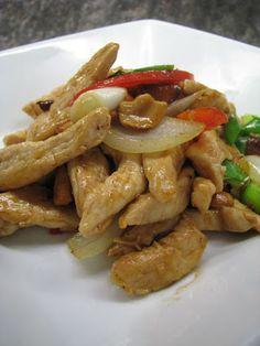 Puolialaston kokki: KAI PHAT MET MUANG HIMAPHAAN - kanaa cashew-pähkinöillä