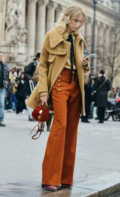Shades of camel, rust and maroon worn together reflect the colours of autumn. #AW15edit #newlook