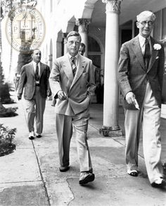 Duke of Windsor in Palm Beach, Florida.