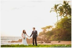 Romantic Wedding Portraits, Romantic Maui Wedding, Romantic Beach Wedding, SImple Maui Wedding, Karma Hill Photography